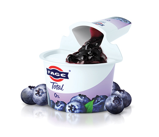 FAGE Total 0% Split Pot Yoghurt - Blueberry