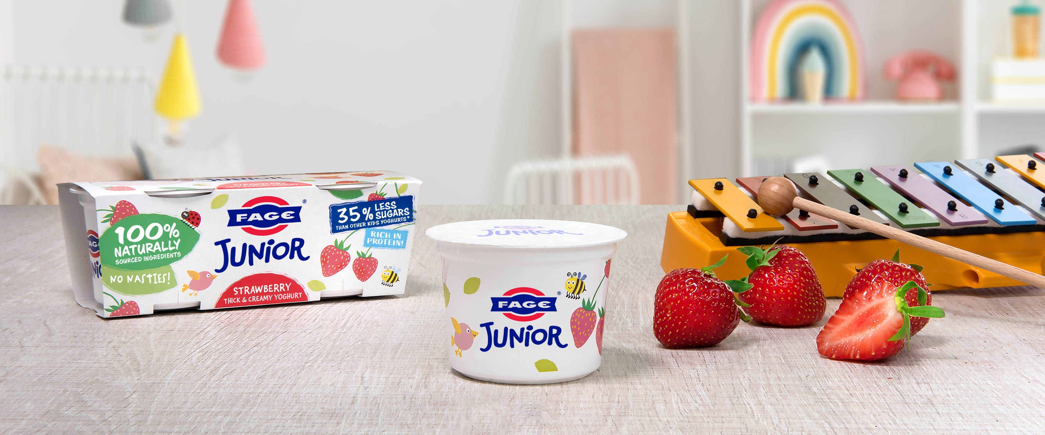 FAGE Junior Strawberry