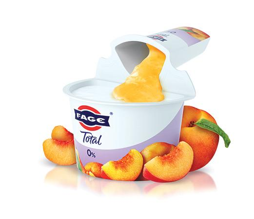 FAGE Total 0% Split Pot Yoghurt - Peach