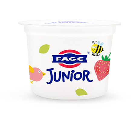 FAGE Junior Strawberry cup
